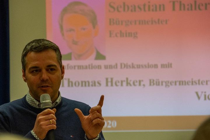 Thomas Herker, Bürgermeister von Pfaffenhofen